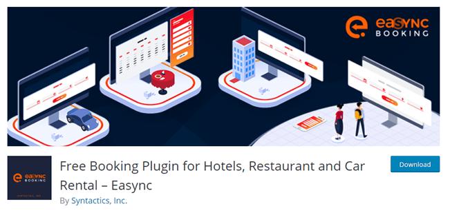 Easync WordPress hotel booking system