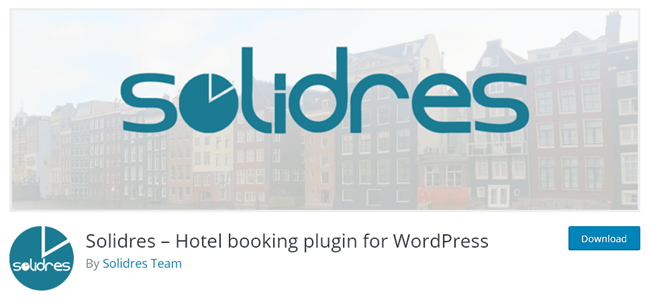Solidres - Hotel Booking plugin for WordPress