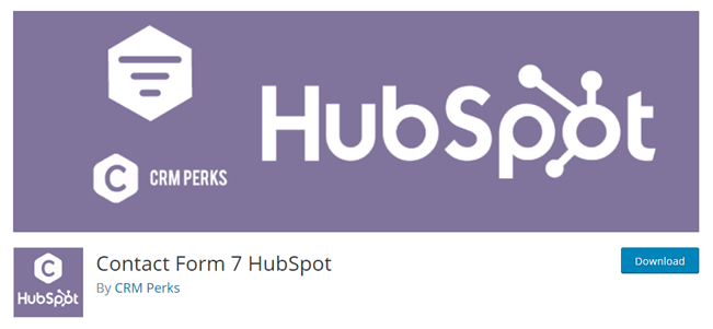 HubSpot Contact Form 7 Add On