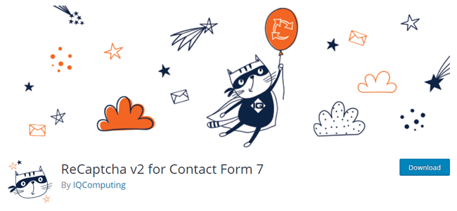 ReCaptcha Contact form 7 add on