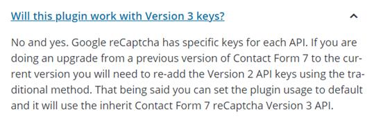 reCaptcha V3 query